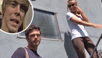 Julianne Hough Is Chuck-ing Her Brother