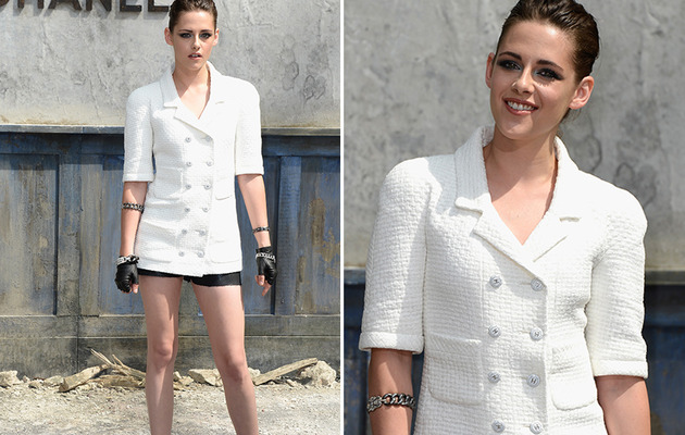 Kristen Stewart Rocks Shortest Shorts Imaginable!