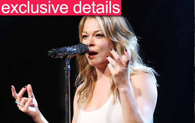 Exclusive Details: LeAnn Rimes Tears Up at Anti-Bullying Concert!