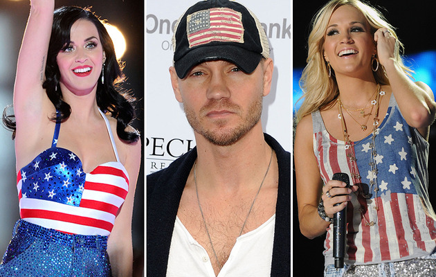 Happy 4th of July -- See Celebs Sport Stars & Stripes!