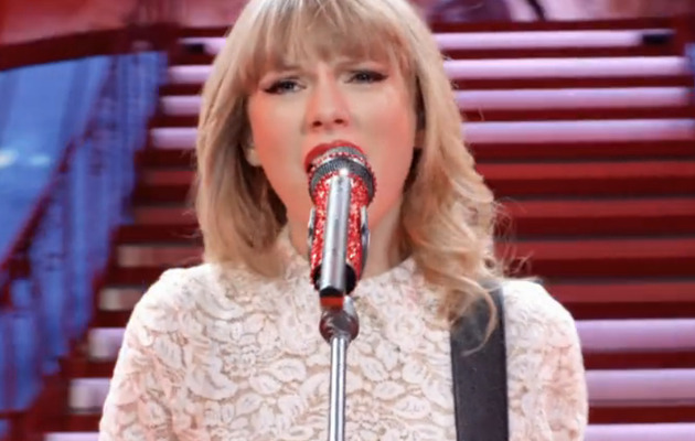 "Taylor Swift Debuts Music Video for ""Red"""