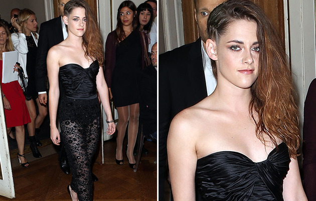 Kristen Stewart Debuts New Edgy 'Do!