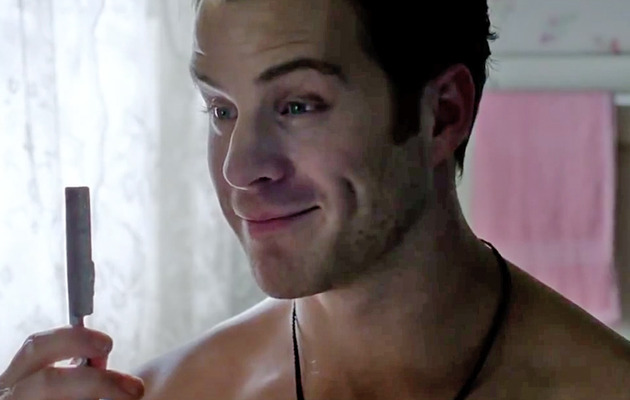 """True Blood"" Newcomer Talks Guy-on-Guy Shaving Scene"