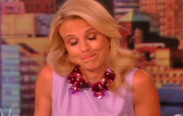 """Elisabeth Hasselbeck Leaves """"The View"""" -- Watch Her Emotional Goodbye!"""
