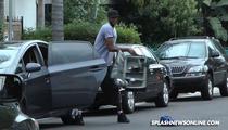 Lamar Odom -- Attacks Paparazzi, Trashes Camera and a Car