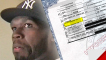 50 Cent -- NOT THE FATHER Of Baby #2 ... At Least On Birth Certificate