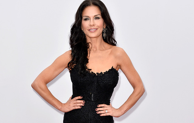 "Catherine Zeta-Jones Steals Spotlight at ""Red 2"" Premiere"