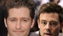Matthew Morrison Honors Cory Monteith 'Glee' Way ... Through Song