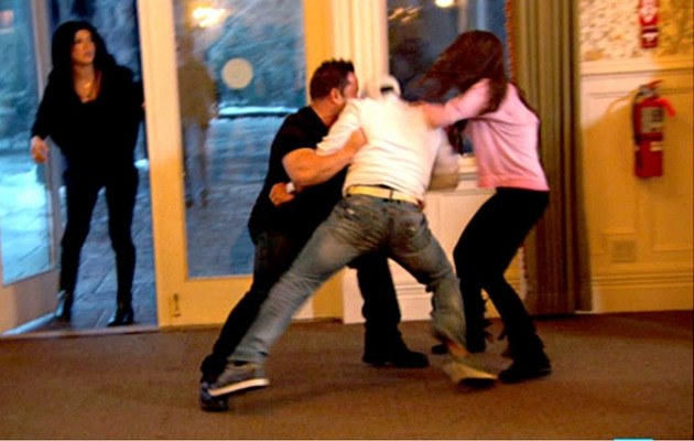 """Real Housewives of New Jersey"" Brawl: The Joes Come To Blows!"
