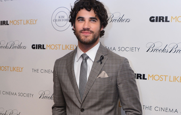 Darren Criss Honors Cory Monteith at Movie Premiere