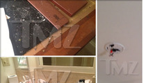 Amanda Bynes -- Hotel Disaster Scene ... Ash, Trash & Disabled Smoke Alarm