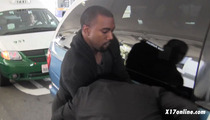 Kanye West Goes Postal on Another Photog -- Paramedics On Scene [VIDEO]