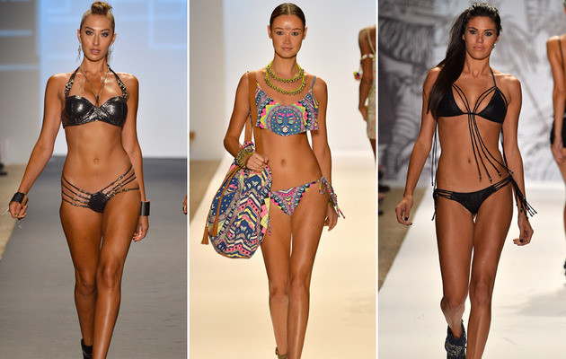 See the Sexiest Swimsuits From Miami Fashion Week!