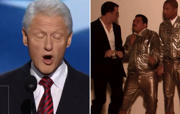 "Best ""Blurred Lines"" Spoofs -- Bill Clinton, Jimmy Kimmel & More!"