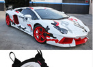 Chris Brown -- My Lambo Just Got a NIKE PAINT JOB