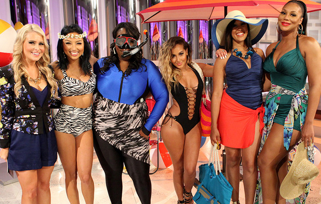 """The Real"" Ladies Model Bathing Suits For Every Body Type!"