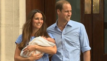 Kate Middleton & Prince William -- Royal Baby REVEALED