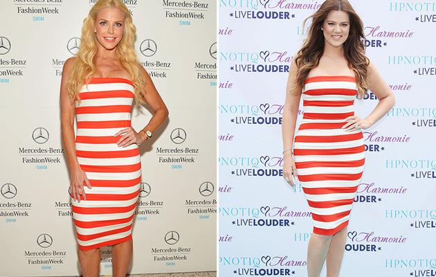 Dueling Dresses: Alexia Echevarria vs. Khloe Kardashian
