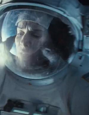 """Insane """"Gravity"""" Clip Shows Sandra Bullock & George Clooney In Peril"""