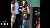 Danica McKellar -- One Awesome 'Wonder' ... in Fishnet Stockings