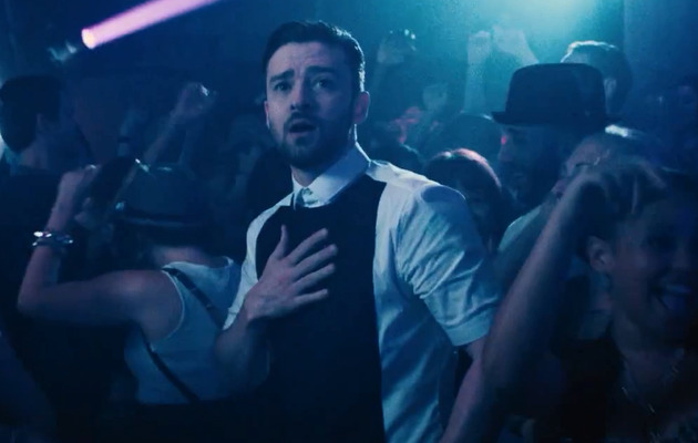 "Justin Timberlake Shows Off Dance Moves for ""Take Back The Night"""