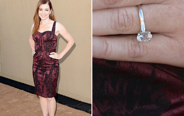Alyson Hannigan's Hubby Re-Proposes -- See New Engagement Ring!