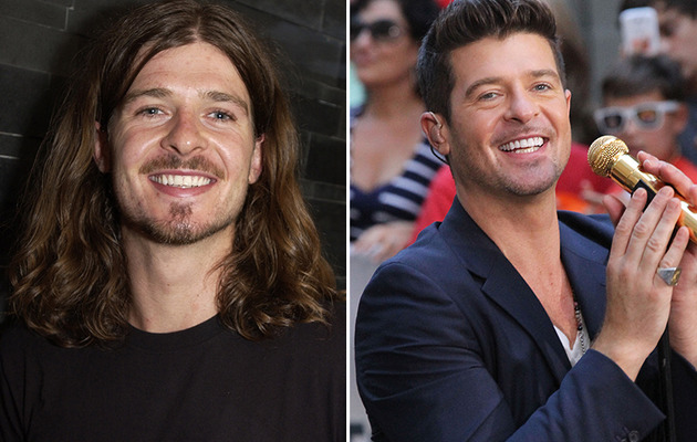 Robin Thicke: See Him Before The Fame!