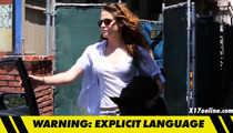 Kristen Stewart RIPS PHOTOG -- 'You Don't Deserve to Breathe the Same Air I Do'