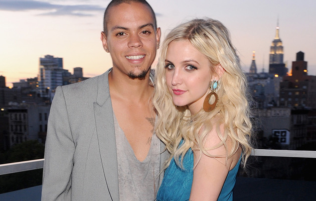 Ashlee Simpson & Evan Ross Attend First Event Together!
