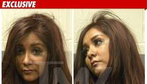 Snooki's Mug Shot -- Her Mascara Runneth Over