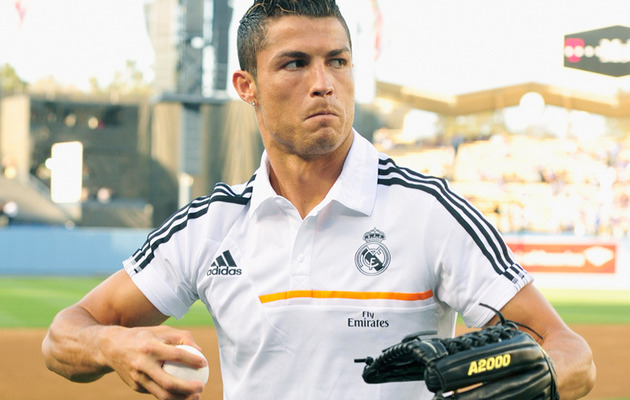 Video: Watch Cristiano Ronaldo's Awful First Pitch