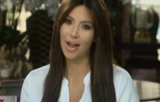 "Video: Kim Kardashian Makes First Post-Pregnancy Appearance on ""Kris"""