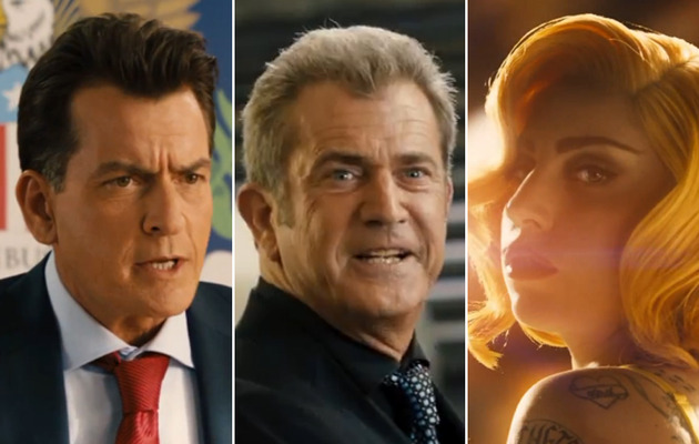 """Machete Kills"" Trailer: Sheen, Gibson, Gaga and Gun Boobs!"