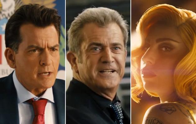 """Machete Kills"" Trailer: Sheen, Gibson, Gaga and Gun Boobs!"