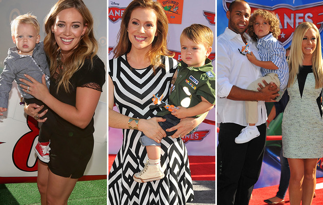 "Stars Bring Their Adorable Kids to ""Planes"" Premiere"