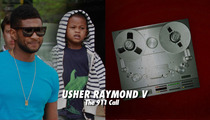 Usher's Son -- The Frantic 911 Call