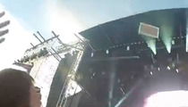 Steve Aoki Lobs Cake 80 Feet ... Rocks Wheelchair Kid in the Face