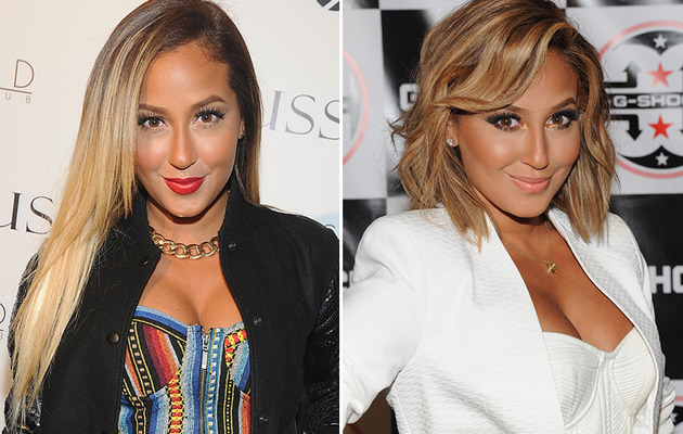 Adrienne Bailon Chops Off Her Hair Too -- See Her Short 'Do!