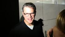 Matt Damon -- I Would NEVER Run for Political Office