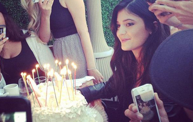 Kylie Jenner Celebrates 16th Birthday with Family & Friends