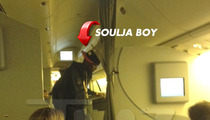Soulja Boy Kicked Off Airplane For Being Un-American
