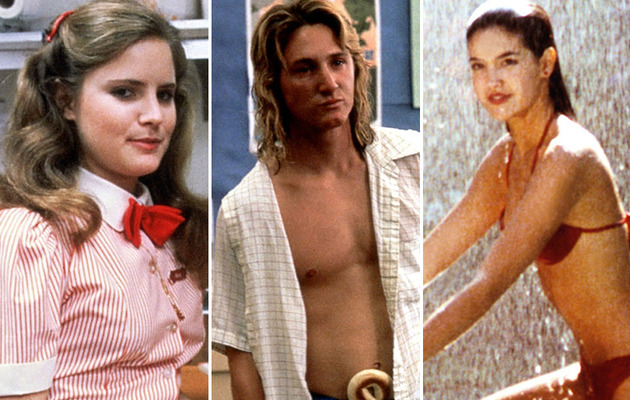 """Fast Times At Ridgemont High"" Cast -- Then & Now!"