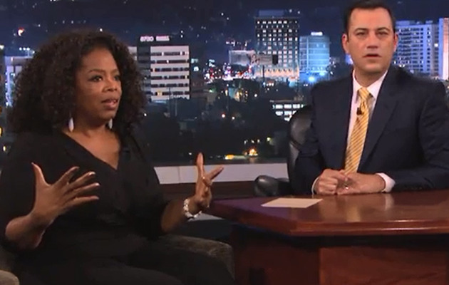 "Video: Oprah Winfrey Gives Away Car on ""Jimmy Kimmel""!"