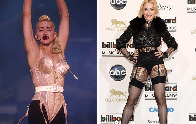 Madonna Turns 55 -- See More Pop Stars Then & Now!