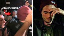 Robert Pattinson SHOVES Security Guard [Video]