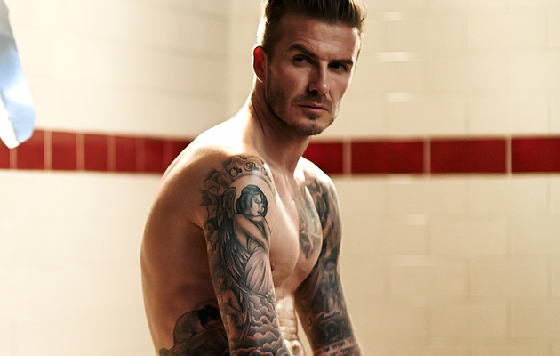 David Beckham In His Underwear Again -- And Hotter Than Ever!