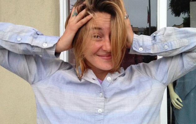 Shailene Woodley Chops Off Her Hair -- See Her New 'Do!