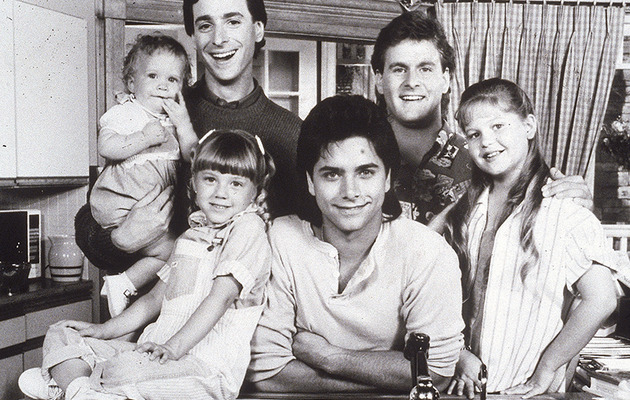 "John Stamos Turns 50 -- See ""Full House"" Stars Then & Now"