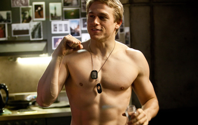 Charlie Hunnam Latest Hunk Rumored to Play Christian Grey