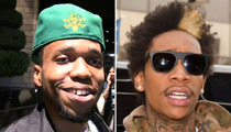Rapper Curren$y -- Wiz Khalifa's Wedding Was a Sticky Icky Situation